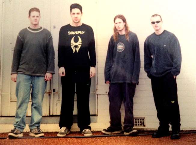 Pyromesh 2001: Craig Swadling, Mike Ioppolo, Alex Lassetter and Andy Jones
